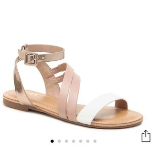Ankle-Strapped Sandals
